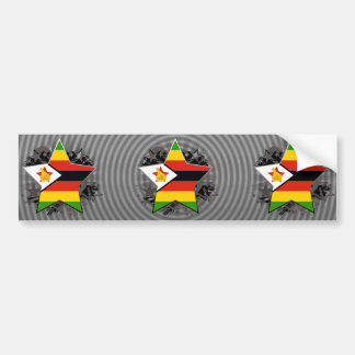 Zimbabwe Star Bumper Stickers