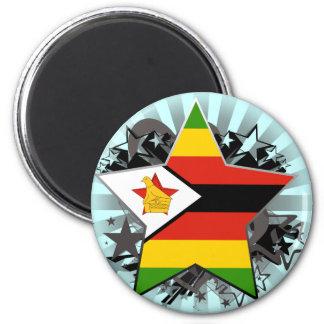 Zimbabwe Star Magnets