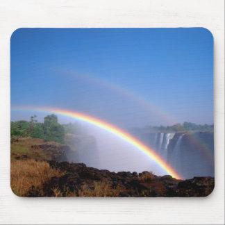Zimbabwe, Victoria Falls National Park. Double Mouse Pad