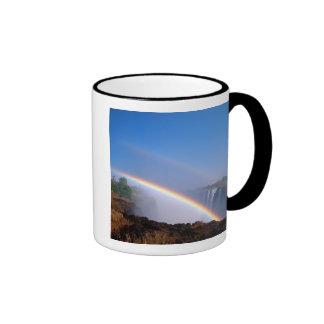Zimbabwe, Victoria Falls National Park. Double Coffee Mug
