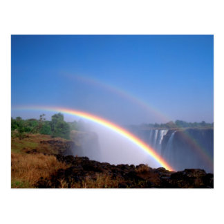 Zimbabwe, Victoria Falls National Park. Double Post Cards