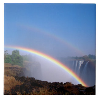 Zimbabwe, Victoria Falls National Park. Double Tile