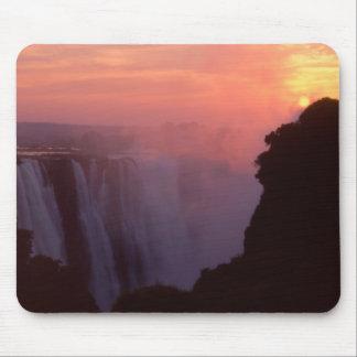 Zimbabwe, Victoria Falls National Park. Misty Mouse Pad
