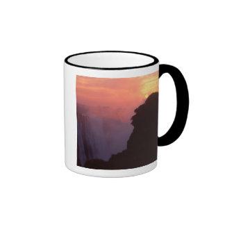 Zimbabwe, Victoria Falls National Park. Misty Coffee Mugs