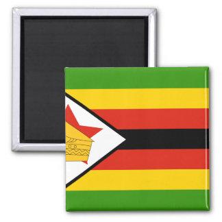 Zimbabwe, Zimbabwe 2 Inch Square Magnet