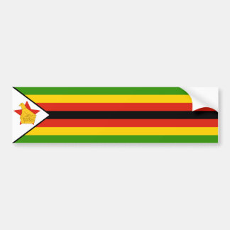 Zimbabwe/Zimbabwean Flag Bumper Stickers