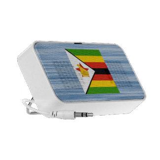 Zimbabwean Flag Floating on water Mp3 Speaker