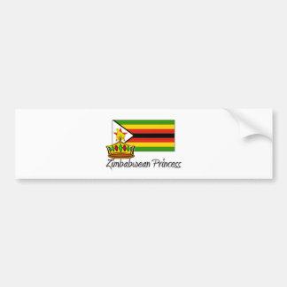 Zimbabwean Princess Bumper Stickers