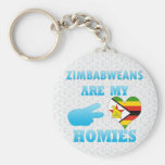 Zimbabweans are my Homies Keychain