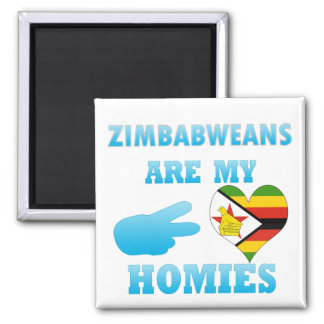 Zimbabweans are my Homies Magnets