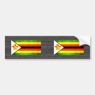 Zimbambe Flag Bumper Stickers