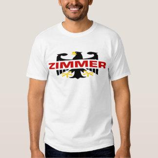 Zimmer Surname T Shirt