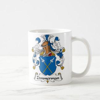 Zimmerman Family Crest Coffee Mug