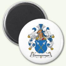 Zimmerman Family Crest Magnet