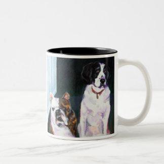 Zimmerman's Dolly & Maggie Two-Tone Coffee Mug