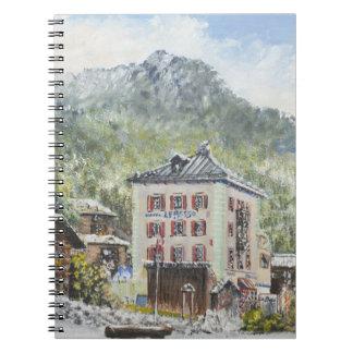 Zinal Suiza. 2007 Libro De Apuntes Con Espiral