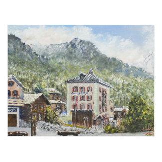 Zinal Suiza. 2007 Postal