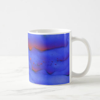 Zinc acetate under the microscope coffee mug