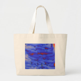 Zinc acetate under the microscope large tote bag