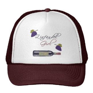 Zinfandel Girl Trucker Hat