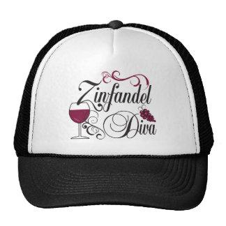 Zinfandel Wine Diva Trucker Hat