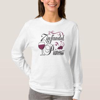 Zinfandel WIne Princess T-Shirt