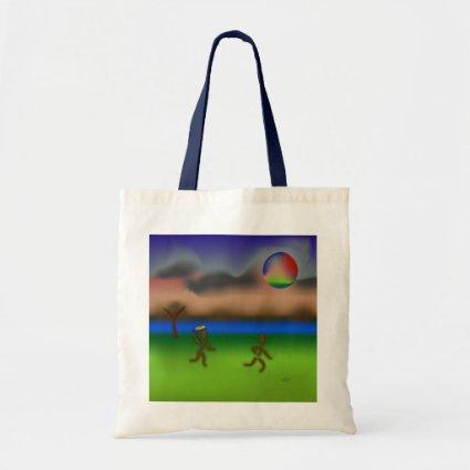 Zinglees ~ April Budget Tote Bag
