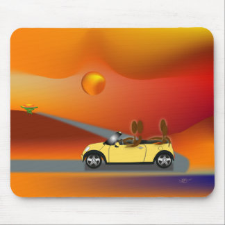 Zinglees ~ Carpool Mouse Pad