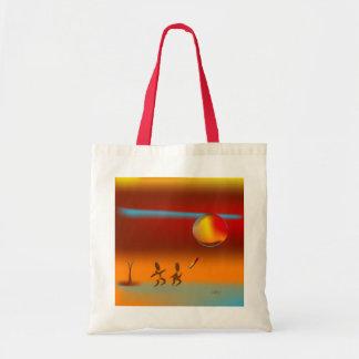 Zinglees ~ Disk Chase 2 Tote Bag