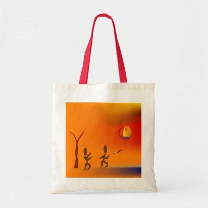 Zinglees ~ Disk Chase Budget Tote Bag