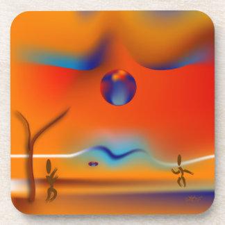 Zinglees ~ Disk Game Drink Coasters