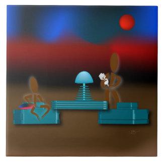 Zinglees ~ Energy Light Bulbs Ceramic Tile