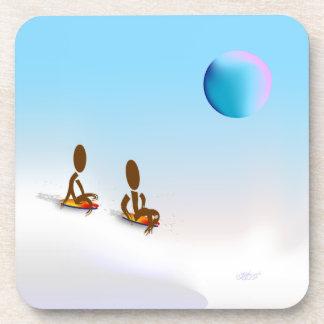 Zinglees ~ January Beverage Coasters