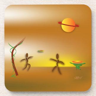 Zinglees ~ Landed Coaster