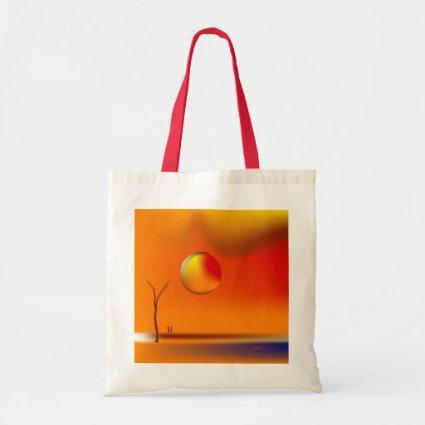 Zinglees ~ Large Sun Budget Tote Bag