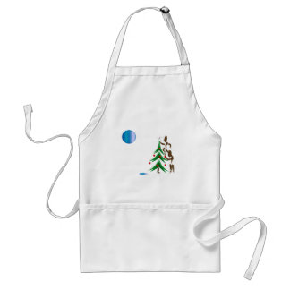 Zinglee's ~ Place the Star Adult Apron
