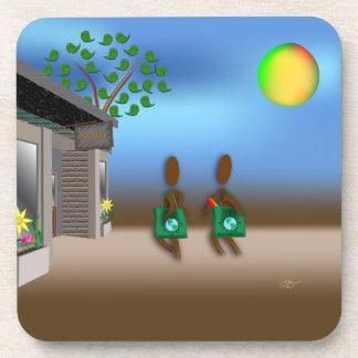 Zinglees ~ Reusable Bags Drink Coaster