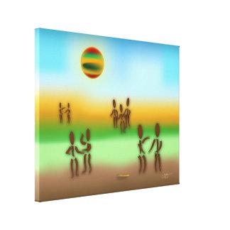 Zinglees ~ Spread the Word Canvas Print