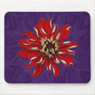 Zinnia Bloom Mouse Pad