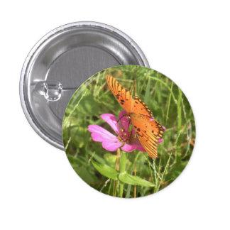 Zinnia & Butterfly Buttons