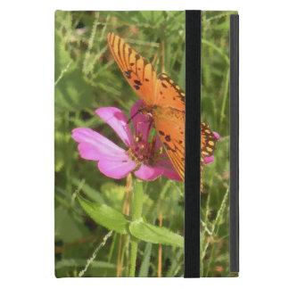 Zinnia & Butterfly Case For iPad Mini