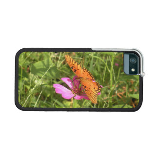 Zinnia & Butterfly Case For iPhone SE/5/5s