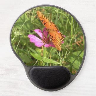Zinnia & Butterfly Gel Mousepad