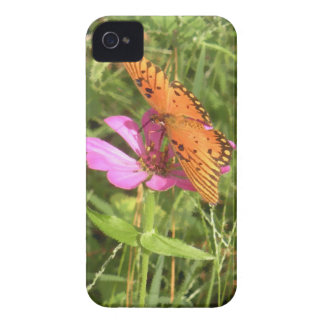 Zinnia & Butterfly iPhone 4 Casemate Case