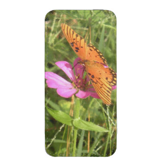 Zinnia & Butterfly iPhone SE/5/5s/5c Pouch