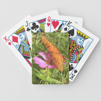 Zinnia & Butterfly Playing Cards