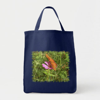 Zinnia & Butterfly Totes