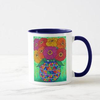Zinnia Fiesta Coffee Mug