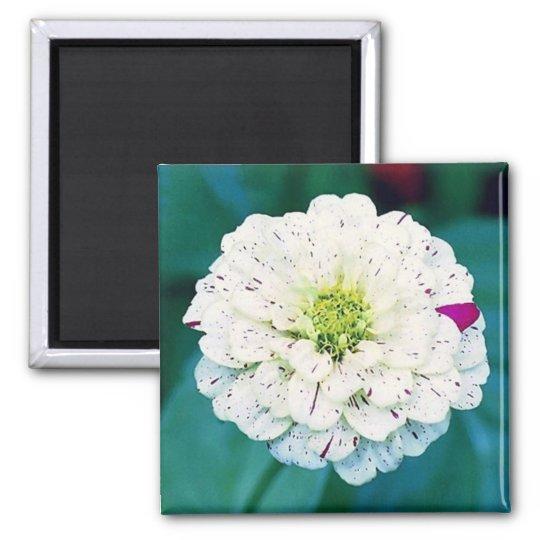 Zinnia Flower Magnet