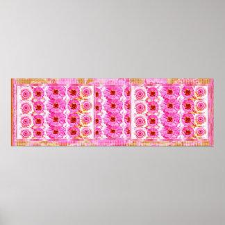 ZINNIA Flower Show  -  Sensual Romance Poster